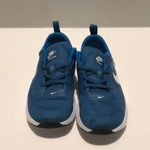 Blue Nike Air Toddler Shoes